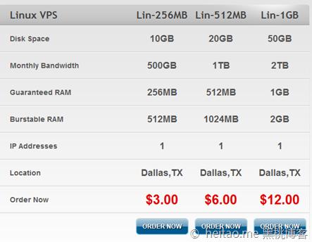 123systems – 3美金/月 OpenVZ 256MB/512MB/10GB/500GB 达拉斯
